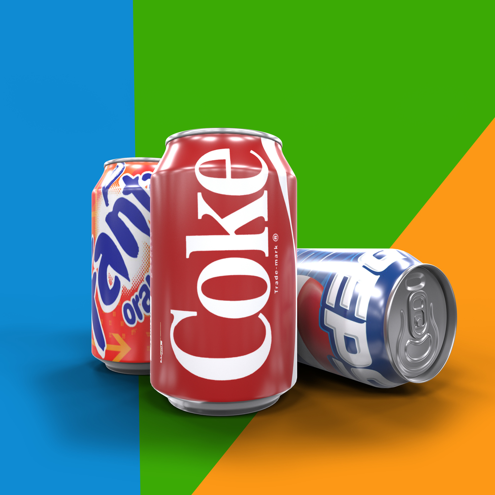 Soft Drink Can psd